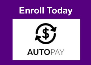 Enroll in Auto Pay